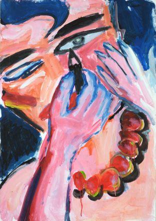 Elvira Bach, Untitled 1982 Acrylic on paper