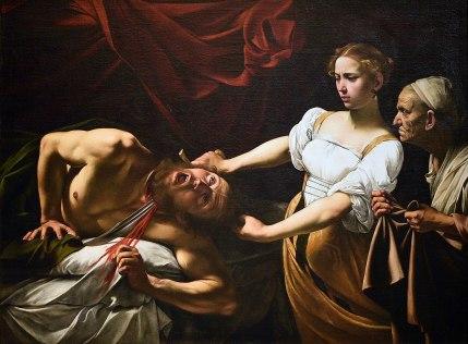 Caravaggio, Judith Beheading Holofernes, 1599